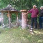 Zeidelei, Bienenhaltung in Bäumen