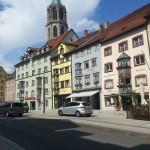 Häuserzeile der Altstadt von Rottweil