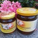 Verkaufsfertiger Honig der Honig-Bienen
