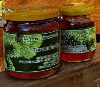 Schweizer Weisstannenhonig von den Honig-Bienen
