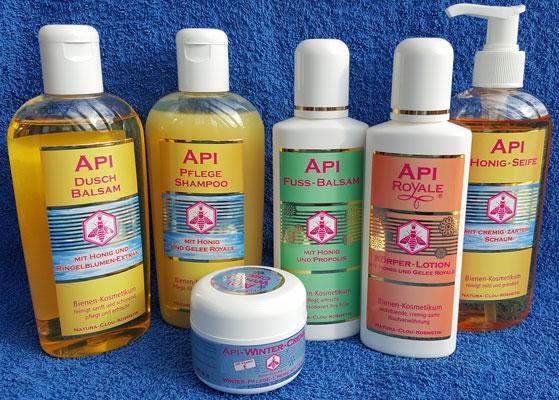 Apis Kosmetik von Gesichts- und Körperpflegeprodukten