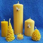 Bienenwachskerzen kaufen – Wabenkerzen – Weihnachtsbäume